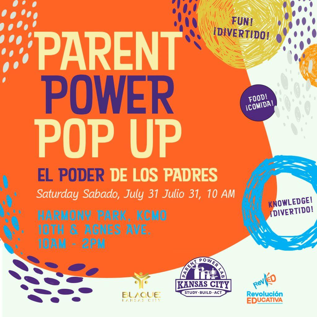 Parent Power Pop Up